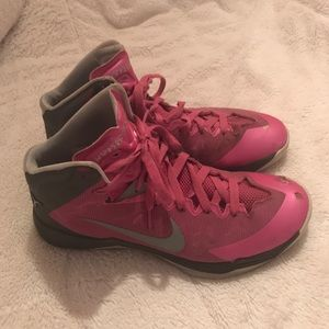 Nike Shoes - Nike Breast Cancer HyperQuickness Basketball Shoes